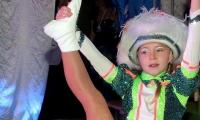 Funkenmariechen Valentina belegt in Naumburg Rang sieben
