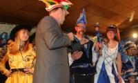 Prinzenpaar bekommt Schlüssel von Jessens Bürgermeister